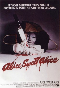 Alice sweet Alice Affiche