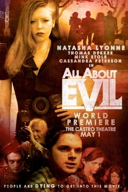 All about Evil Affiche