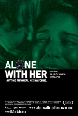 Alone With Her Affiche