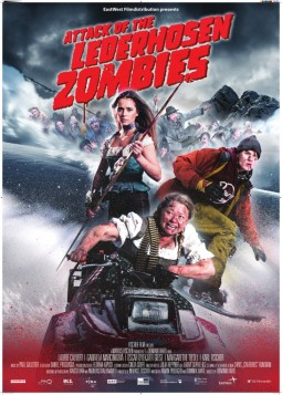 Attack of the lederhozen zombies Affiche
