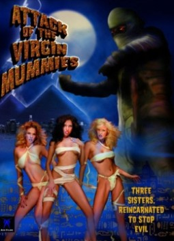 Attack of the Virgin Mummies Affiche