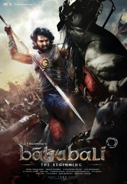 Baahubali: The Beginning Affiche