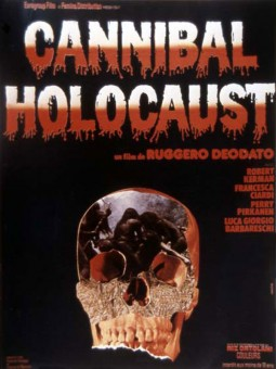 Cannibal Holocaust Affiche