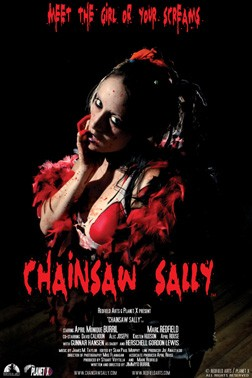Chainsaw Sally Affiche