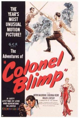 Colonel Blimp Affiche
