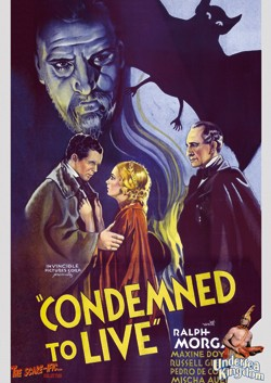 Condemned to live Affiche