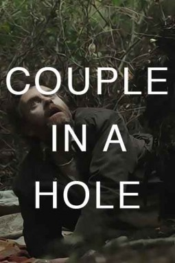 Couple in a hole Affiche