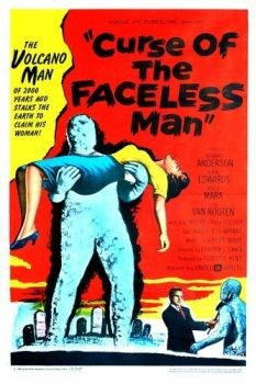 Curse of the Faceless Man Affiche