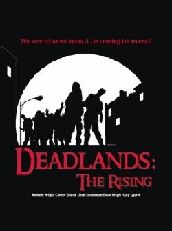 Deadlands: The Rising Affiche