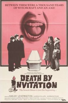 Death by Invitation Affiche