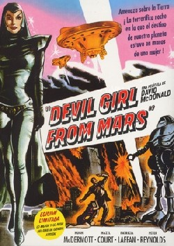 Devil Girl from Mars Affiche