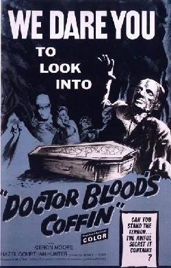 Doctor Blood's coffin Affiche