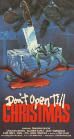 Don't Open Till Christmas Affiche
