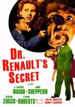 Dr Renault's secret Affiche