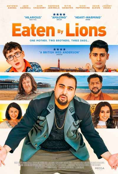 Eaten by lions Affiche