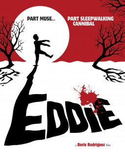 Eddie, the sleepwalking Cannibal Affiche