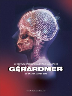 Festival international du film fantastique de Gérardmer 2016 Affiche