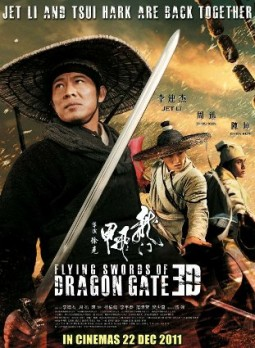 Flying Swords of Dragon Gate 3D Affiche