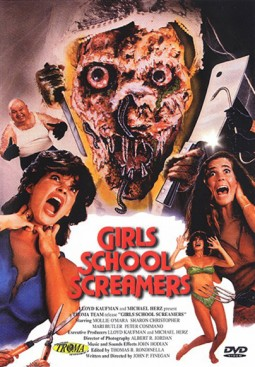 Girls School Screamers Affiche
