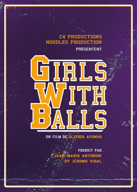Girls with balls Affiche