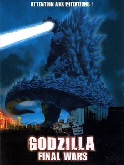 Godzilla Final Wars Affiche