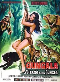 Gungala vierge de la jungle Affiche
