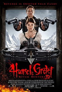 Hansel et Gretel, Witch Hunters Affiche