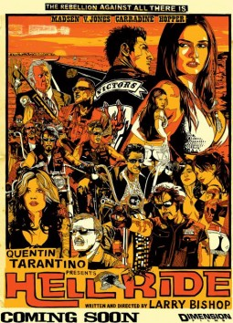 Hell Ride Affiche