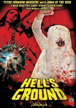 Hell's ground Affiche