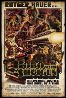 Hobo with a shotgun Affiche