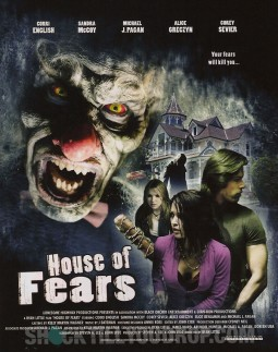 House of fears Affiche