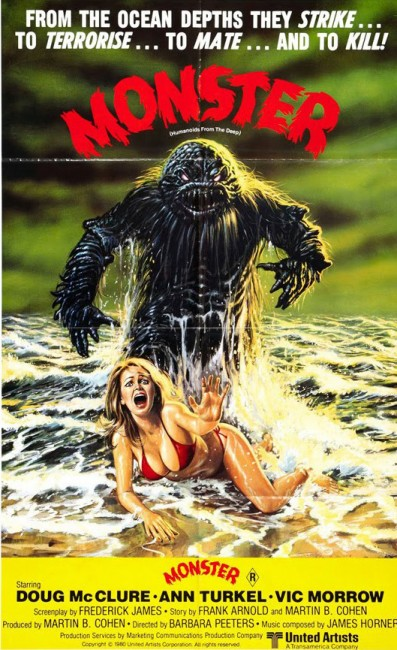 Humanoids from the deep Affiche