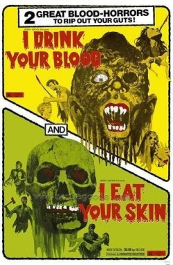 I drink your blood Affiche