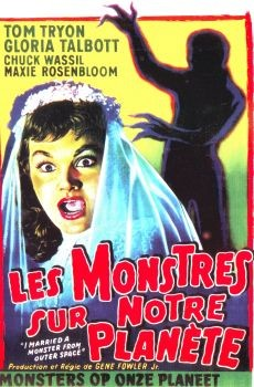 I Married a Monster from Outer Space Affiche