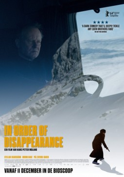 In order of disappearance Affiche