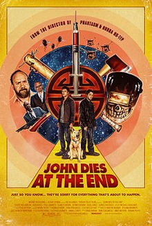 John dies at the end Affiche