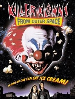 Killer klowns from outer space Affiche