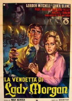 La vengeance de Lady Morgan Affiche