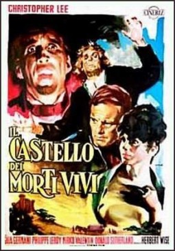 Le chateau des morts-vivants Affiche