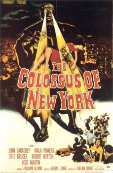 Le colosse de New-York Affiche