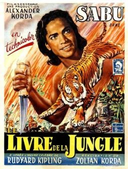 Le Livre De La Jungle Affiche