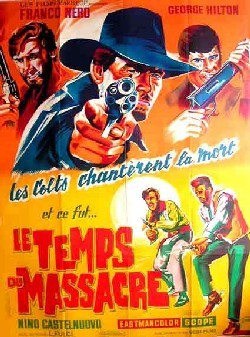 Le Temps du Massacre Affiche