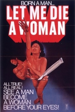 Let Me Die A Woman Affiche