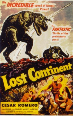 Lost Continent Affiche