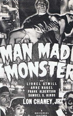 Man Made Monster Affiche