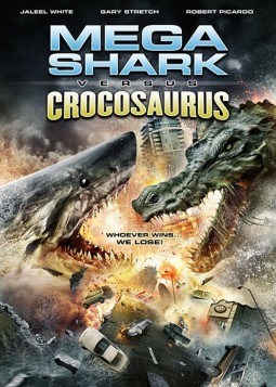 Mega Shark vs Crocosaurus Affiche