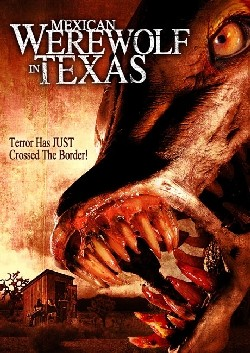 Mexican Werewolf in Texas Affiche
