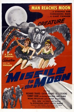 Missile to the moon Affiche