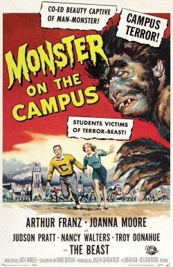 Monster on the Campus Affiche