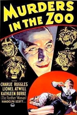 Murders in the zoo Affiche